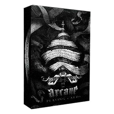 Игральные Карты Ellusionist - Arcane Black Playing Cards