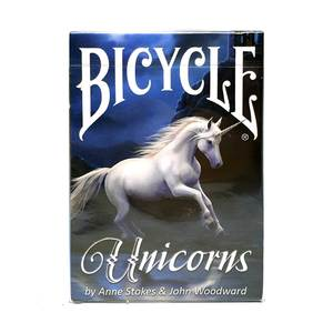 Игральные Карты Bicycle Anne Strokes Unicorns Playing Cards