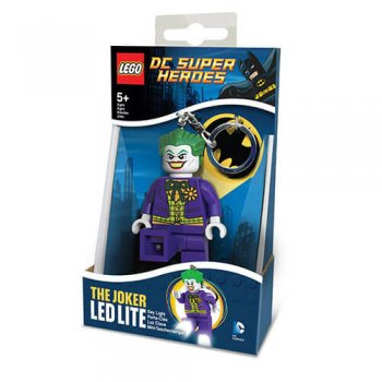 Keychain-Lighter  LEGO DC SUPER HEROES - Joker (Брелок-Фонарик LEGO DC SUPER HEROES - Джокер)