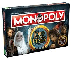 Monopoly The Lord Of The Rings Trilogy Edition (Монополия Властелин Колец) ENG