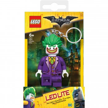 Keychain-Lighter  LEGO BATMAN The Movie - Joker (Брелок-Фонарик LEGO Бэтмен - Джокер)