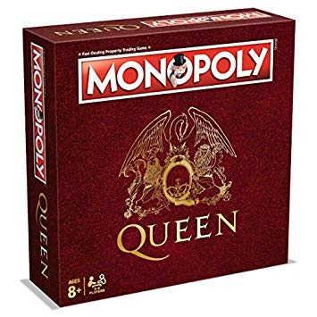 Monopoly Queen Edition (Монополия Queen) ENG