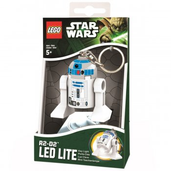 Keychain-Lighter  LEGO STAR WARS - R2D2 (Брелок-Фонарик LEGO STAR WARS - Р2Д2 )