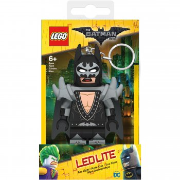 Keychain-Lighter  LEGO BATMAN The Movie - Batman Rock Star (Брелок-Фонарик LEGO Бэтмен - Бэтмен Рок Звезда)