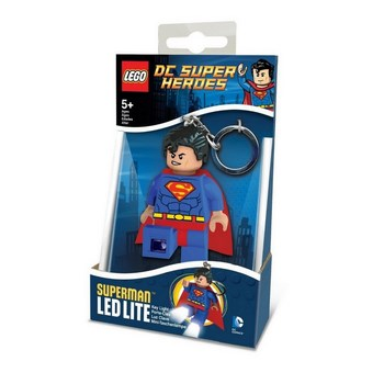 Keychain-Lighter  LEGO DC SUPER HEROES - Superman (Брелок-Фонарик LEGO DC SUPER HEROES - Супермэн) (Супермен)