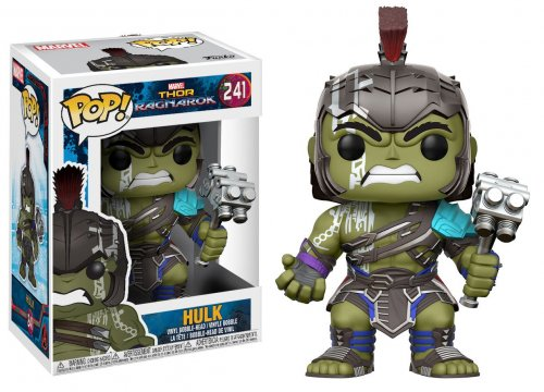 Funko POP! Marvel: Thor Ragnarok - Hulk (Funko POP! Marvel: Тор Рагранёк - Халк) 10 дюймов! (25,4см)