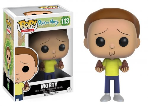 Funko POP! Animation: Rick and Morty - Morty (Funko POP! Animation: Рик и Морти - Морти)