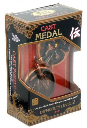 Cast Puzzle Medal Level 2 ( Уровень 2 )