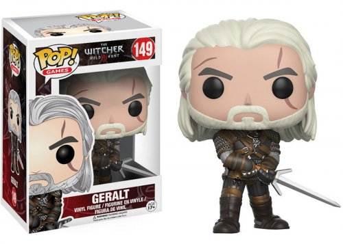 Funko POP! Games: The Witcher - Geralt (Funko POP! Games: Ведьмак - Геральт)