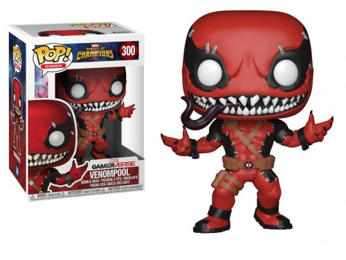Funko POP! Games Marvel: Contest Of Champions - Venompool (Фигурка Funko POP! Games Marvel: Contest Of Champions - Веномпул)