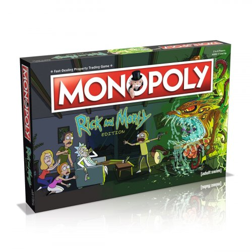 Monopoly Rick and Morty Edition (Монополия Рик и Морти) ENG