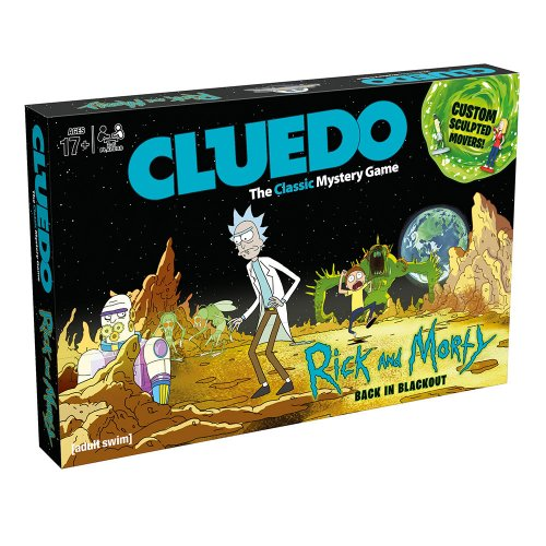 CLUEDO Rick and Morty Edition (КЛУЭДО Рик и Морти) ENG