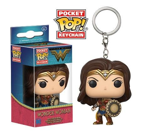 Pocket POP! Keychain: Wonder Woman - Wonder Woman (Брелок Чудо Женщина)