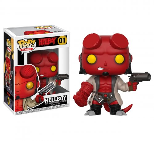 Funko POP! Comics: Hellboy - Hellboy (Funko POP! Comics: Хеллбой -Хеллбой)