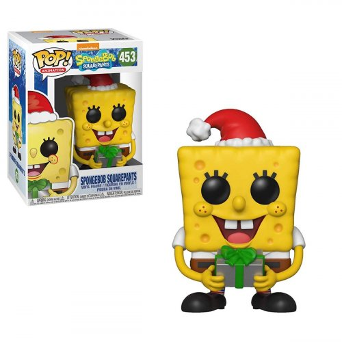 Funko POP! Squarepants: Spongebob Xmas (Фигурка Funko POP! Спанч Боб Квадратные Штаны - Спанч Боб)