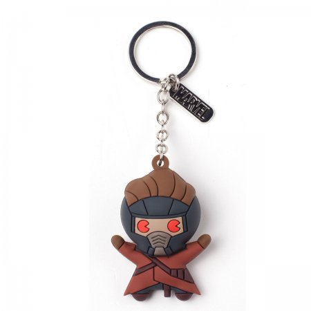 Bioworld Keychain: Marvel: Star Lord (Bioworld Брелок: Звёздный Лорд)