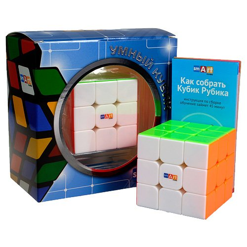 Smart Cube 3x3 Stickerless (Кубик 3х3 Без Наклеек)