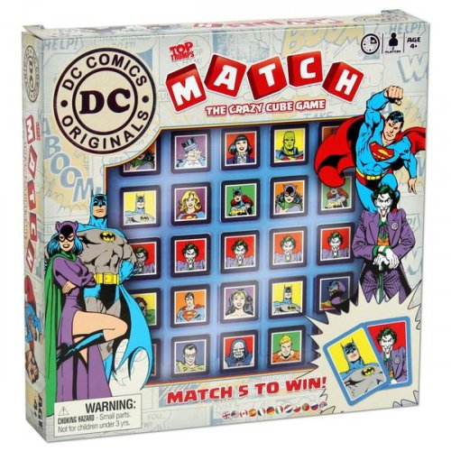 Настольная игра - Top Trumps Match DC Comics ENG