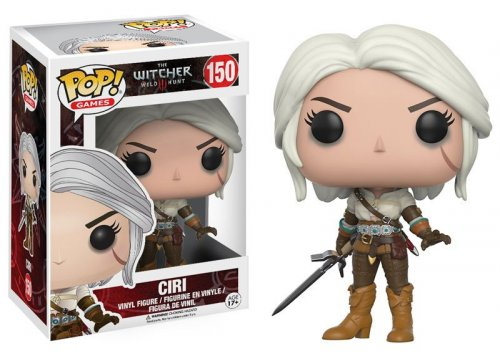 Фигурка POP! Vinyl: Ведьмак: Цири (POP! Vinyl: The Witcher: Ciri)