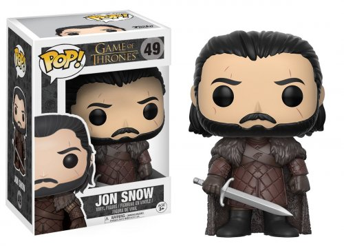 Фигурка Funko POP! TV: Game Of Thrones - Jon Snow (Фигурка Funko POP! TV: Игра Престолов - Джон Сноу)