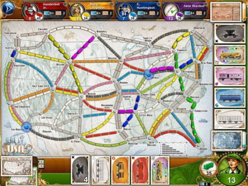 Ticket to Ride: Америка (Билет на Поезд) ENG