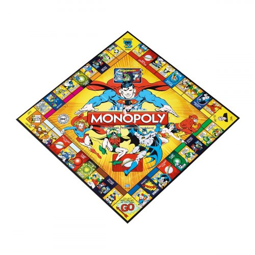 Monopoly DC Comics Originals (Монополия DC Comics) ENG