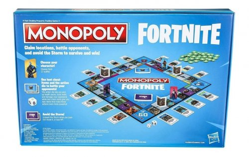 Настольная игра - Monopoly Fortnite (Монополия Фортнайт)