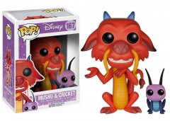 Funko - Funko POP! Disney: Mulan - Mushu and Cricket (Funko POP! Disney: Мулан - Мушу и Крикет)