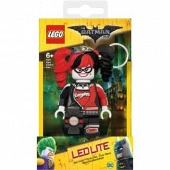 - Keychain-Lighter  LEGO BATMAN The Movie - Harley Quinn (Брелок-Фонарик LEGO Бэтмен - Харли Квинн)