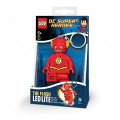 Funko - Keychain-Lighter  LEGO DC SUPER HEROES - The Flash (Брелок-Фонарик LEGO DC SUPER HEROES - Флэш)