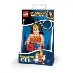- Keychain-Lighter  LEGO DC SUPER HEROES - Wonder Woman (Брелок-Фонарик LEGO DC SUPER HEROES - Чудо-Женщина)