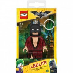 - Keychain-Lighter  LEGO BATMAN The Movie - Batman (Брелок-Фонарик LEGO Бэтмен - Бэтмен в кимоно)