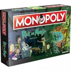 - Монополия. Рик и Морти (Monopoly. Rick and Morty Edition) RUS