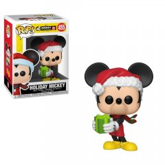 - Funko POP! Disney 90-th Anniversary: Holiday Mickey (Фигурка Funko POP! Disney 90-th Anniversary: Праздничный Микки)