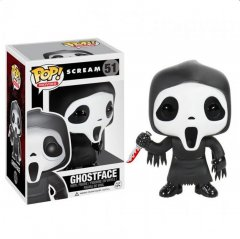 Funko - Funko POP! Movies: Scream - Ghost Face (Фигурка Funko POP! Movies: Крик - Призрачное Лицо)