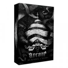 - Игральные Карты Ellusionist - Arcane Black Playing Cards