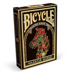 - Игральные Карты Bicycle Warrior Horse Playing Cards