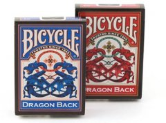 - Игральные Карты Bicycle Dragon Back Playing Cards Red