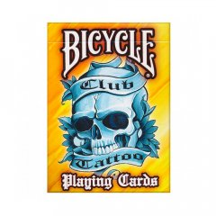 - Игральные Карты Bicycle Club Tattoo Playing Cards Yellow
