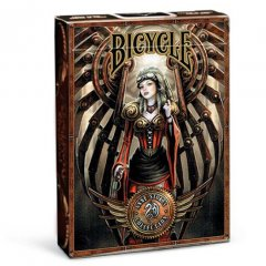 - Игральные Карты Bicycle Anne Strokes Steampunk Playing Cards