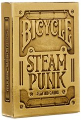 - Игральные Карты Bicycle Steampunk Gold Playing Cards