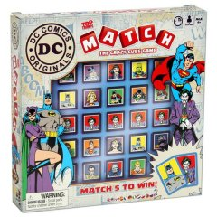 - Top Trumps Match DC Comics ENG