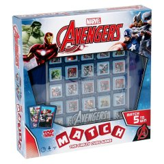 - Top Trumps Match Marvel Avengers ENG