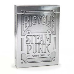 - Игральные Карты Bicycle Steampunk Playing Cards Silver