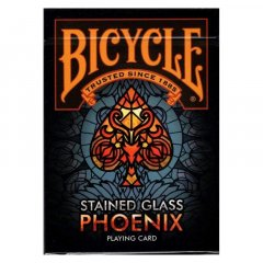 - Игральные карты Bicycle Stained Glass Phoenix