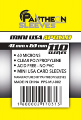 - Протекторы 41х63 Mini USA Apollo (Pantheon Sleeves) 110 шт.