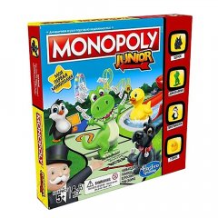 - Monopoly Junior (Монополия Юниор) Моя первая Монополия