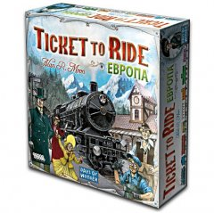- Ticket to Ride Europe (Билет на поезд. Европа)