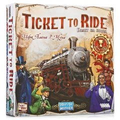 - Билет на Поезд: Америка (Ticket to Ride: Америка) RUS